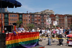 Gay Pride Parade Stock Image