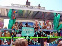Gay Pride Parade, Brighton, Sussex, England Stock Image