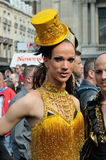 Gay Pride Parade in Brussels Royalty Free Stock Photo