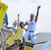 Gay Pride Parade in Brussels Stock Photo