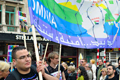 Gay Pride Parade in Brussels Stock Photography