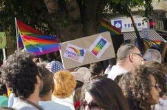 Gay Pride Parade, Cipro Fotografia Stock Libera da Diritti