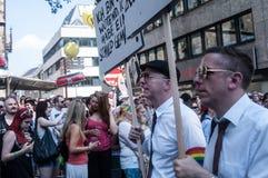 Gay Pride Parade Cologne Stock Photo