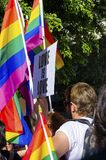 Gay Pride Parade, Cyprus Stock Photography
