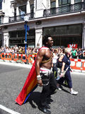 Gay Pride Parade Day 2010 In Central London Stock Photography