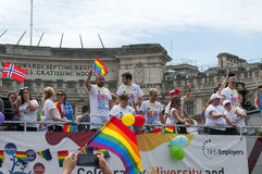 Gay Pride Parade 2017 de Londres imágenes de archivo libres de regalías