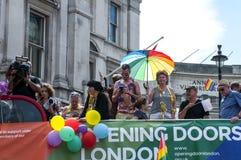 Gay Pride Parade 2017 de Londres foto de archivo libre de regalías
