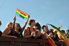 Gay Pride Parade 2013 en Estocolmo foto de archivo libre de regalías