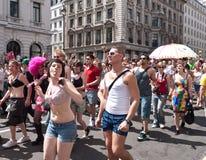 Gay Pride Parade London 2010 Royalty Free Stock Photos