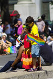 Gay pride parade Montreal Royalty Free Stock Image