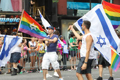 Gay Pride Parade New York City 2011 Stock Photos