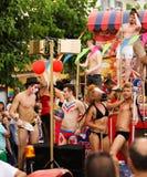 Gay pride parade in Sitges. Catalonia Stock Image