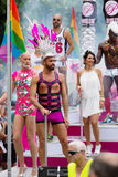 In  Gay pride parade in Sitges. Catalonia Royalty Free Stock Images