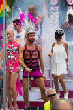 Gay pride parade in Sitges. Catalonia Royalty Free Stock Images