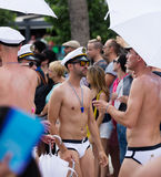 Gay pride parade in Sitges Royalty Free Stock Photography