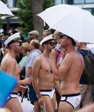 Gay pride parade in Sitges Royalty Free Stock Photos
