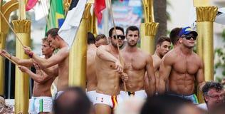 Gay pride parade in Sitges Royalty Free Stock Image