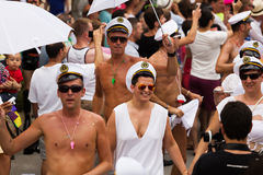 Gay pride parade in Sitges Stock Photography
