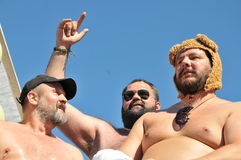 Gay Pride Parade 2013 a Stoccolma Immagine Stock