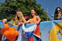 Gay Pride Parade 2013 a Stoccolma Fotografie Stock