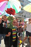 Gay Pride Parade 2013 in Stockholm Stock Photography