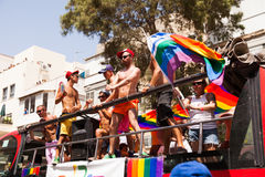 Gay Pride Parade Tel-Aviv 2013 Immagine Stock