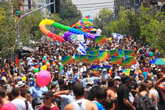 Gay Pride Parade in Tel Aviv, Israel. Royalty Free Stock Photo