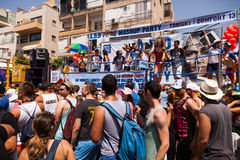 Gay Pride Parade Tel-Aviv 2013 Royalty Free Stock Photo