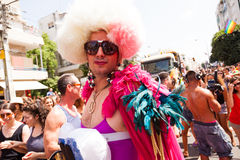 Gay Pride Parade Tel-Aviv 2013 Royalty Free Stock Image