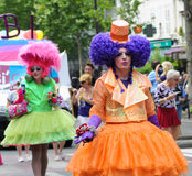Gay Pride Parade to support gay rights Royalty Free Stock Images