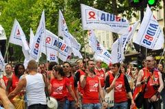 Gay Pride Parade to support gay rights Royalty Free Stock Photos