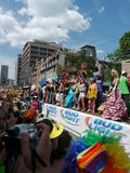 Gay Pride Parade, Toronto, 2011 Royalty Free Stock Image
