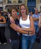 Gay Pride Paris Demands Gay Marriage Now. Paris, France, Gay Pride, LGTB March Stock Photos