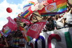 The Gay Pride 2012, Paris, France Royalty Free Stock Image