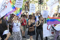 The Gay Pride 2012, Paris, France Stock Photos