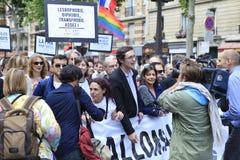 The Gay Pride 2013, Paris, France Royalty Free Stock Photos