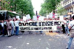 Gay Pride - Paris Royalty Free Stock Image