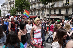 Gay Pride in Paris, France Royalty Free Stock Images