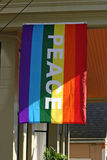 Gay Pride Peace Banner Royalty Free Stock Photos