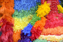 Gay Pride Rainbow Dress Close-Up Stock Image