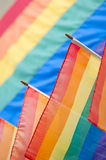 Gay Pride Rainbow Flags Background Royalty Free Stock Image
