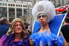 Gay Pride Rally el 23 de mayo de 2015 Foto de archivo