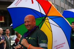 Gay Pride Rally on 23rd May 2015 Royalty Free Stock Photo