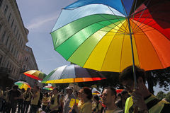 Gay pride in Riga 2008 Stock Photography