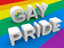 Gay pride Royalty Free Stock Photo
