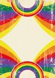Gay rainbow poster Royalty Free Stock Photo