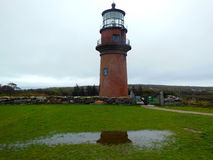 Gay`s Head Light House. On a rainy day in October of 2016 Royalty Free Stock Photography