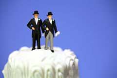 Gay or same-sex marriage concept. Royalty Free Stock Photography