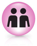 Gay sign. Gay/lesbian icon 3d illustration Stock Images