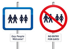 Gay Signs Royalty Free Stock Photos